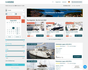 Yacht Charter in Kroatien von Zizoo